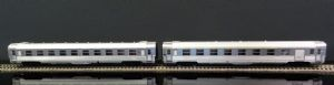 HJ4099 SNCF  set of 2 DEV Inox coaches